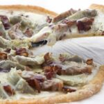 Bacon Chicken Artichoke Pizza